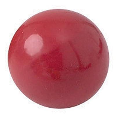 Balle à grain remplissable en PVC 70 mm, de couleur rouge