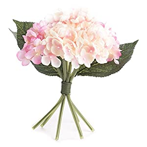 Factory Direct Craft Artificial Hues of Spring Color Hydrangea Bouquet for Crafting, Creating and Embellishing 108