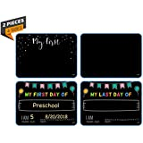 Funplus/Fun+ Ultimate Photo Sharing Keepsake Sign Set. Gift for Kids. Photo Booth Prop, First time of Christmas Photo first day of school photo. Liquid chalkboard sign