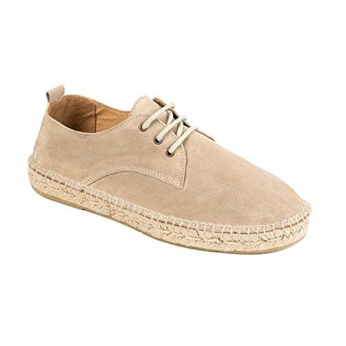 Sale weltenmann Stoffa up Borsa Topo Espadrillas Pelle di nbsp;Uomo Beige Summer to Scamosciata con 40 Sneakers Premium in r7rwUq