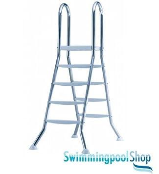Edelstahl poolleiter for Aufstellpool stahl