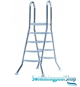 Edelstahl poolleiter for Poolleiter bei obi