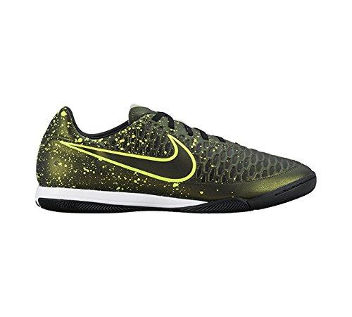 Nike Uomo Magista Onda Scarpe da Calcio Giallo / Nero / Verde (Dark Citron / Drk Citron-blk-vlt)