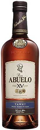 Ron Abuelo Tawny 15 años de 70 cl - Elaborado en Panama ...