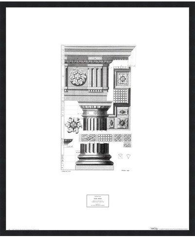希少 黒入荷! Doric順序by Abraham Swan – LE_62519-F101-23x28 Swan 23 x 28インチ – アートプリントポスター – LE_62519-F101-23x28 Classic Black Frame B01N6TSBEC, ルイグラマラス-Rui glamourous-:07a57263 --- a0267596.xsph.ru