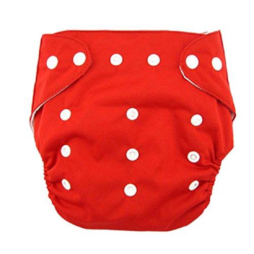 Malloom Cute Newborn Baby Adjustable Washable Ventilate Cloth Diaper Cover Re...
