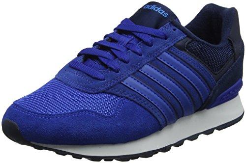 adidas Men 10k Trainers Blue (Collegiate Navy/Blue/Bright Blue)