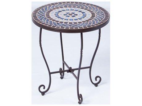 Alfresco Home Tremiti Mosaic Side Table ()