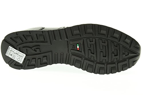 BLACK GARDENS Mann niedrige Turnschuhe A604350U / 100 Nero