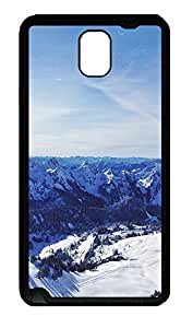 Samsung Note 3 Case landscapes nature snow mountains 37 TPU Custom Samsung Note 3 Case Cover Black