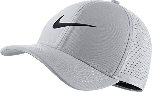 Nike AeroBill Classic 99 Performance Golf Cap 2019 Wolf Gray/Anthracite/Black Medium/Large