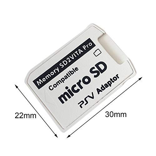 Adaptador Profesional pequeño tamaño versión 5.0 SD2VITA para PS ...