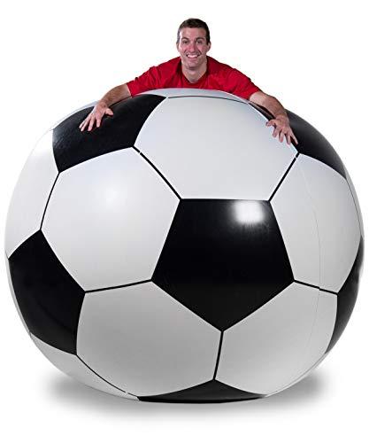 Vat19 Giant Inflatable Soccer Ball - 6 Feet Tall - Super Tough