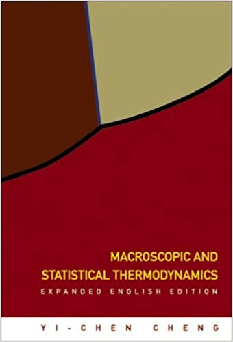 Book Macroscopic and Statistical Thermodynamics