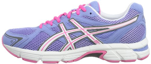 Asics Blanco Course Rosa Chaussures pursuit Azul De Gel Pour Femme BZrBwS