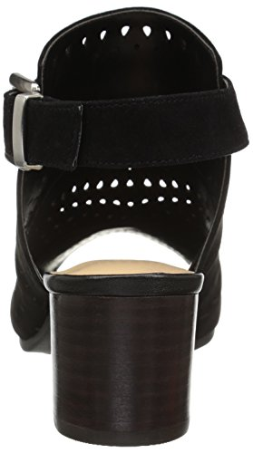 Bella Sandal Suede Vita Kid Dress Women's Black Fonda qvIqxrFwO