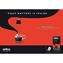 80 x LAVAZZA - Nespresso OriginalLine Compatible Capsules - ESPRESSO ARMONICO - Intensity 8