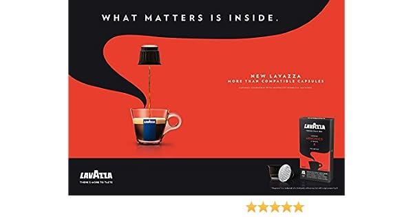 80 x LAVAZZA - Nespresso OriginalLine Compatible Capsules - ESPRESSO ARMONICO - Intensity 8: Amazon.com: Grocery & Gourmet Food