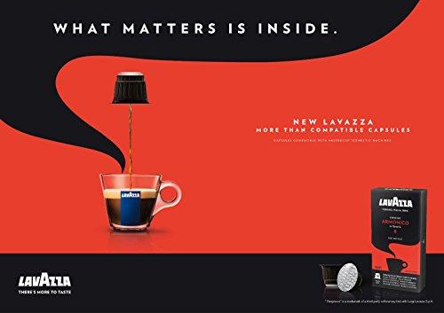 (80 x LAVAZZA - Nespresso OriginalLine Compatible Capsules - ESPRESSO ARMONICO - Intensity 8)