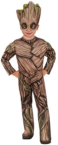 Rocket And Groot Costumes (Rubie's Costume Guardians Of The Galaxy Vol. 2 Toddler Deluxe Groot Costume, Multicolor, X-Small)