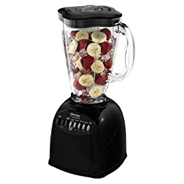 Oster 6706 6-Cup Plastic Jar 10-Speed Blender 52 10-speed, 450w blender with all-metal drive Sleek white shade looks stylish in modern kitchens Ice-crushing feature for delicious frozen drinks