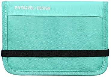 (エーアンドアイ)パスポートケース カバー マルチケース 旅行グッズ 財布 母子手帳 小分けバッグ ツートエミリーパスポートケース Y100