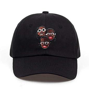 1bd795b8 INF USA Hip Hop Dreadlock dad hat Men Snapback Cap Cotton% Baseball Cap for Adult  Men Women Golf Cap Hats Bone Gorra Black: Amazon.in: Clothing & ...