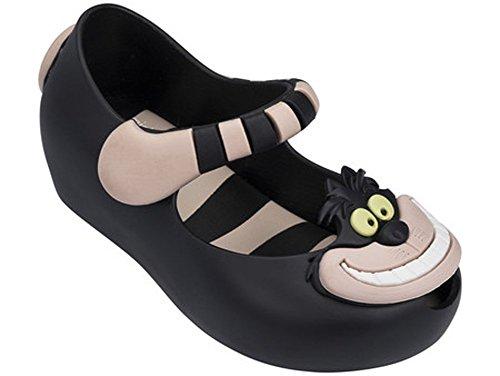 Melissa Girls Mini Ultragirl + Alice W Mary Jane Shoe Black Pink Size 8 M US Toddler (Alice Mary Jane)