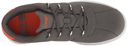 Lugz Mens Zrocs Fashion Sneaker Charcoal/Orange/White dJ30Xmo