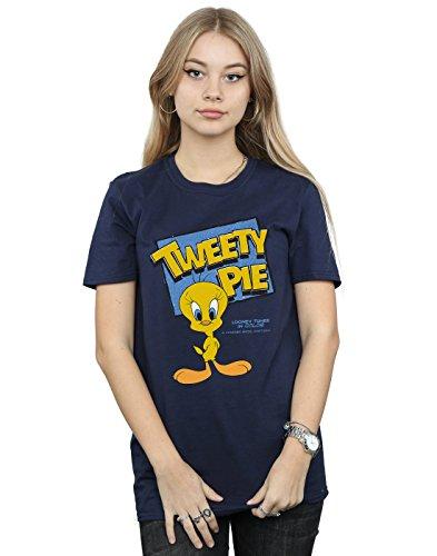 Novio Fit Del Pie Mujer Classic Armada Tunes Looney Tweety Camiseta gnqPpwF6