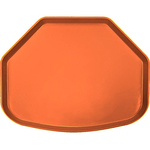 Camtray, Trapezoid, 14-9/16'' X 19-1/2'', Citrus Orange, Nsf Special Order Item Not Carried In (12 Pieces/Unit)