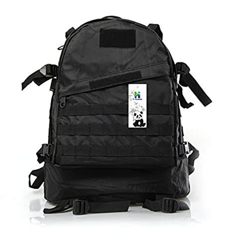 Tactical Backpack,HLHyperLink Military Rucksack Assault Pack Molle Waterproof Outdoor Travel Hiking Camping - Black Label Duffel