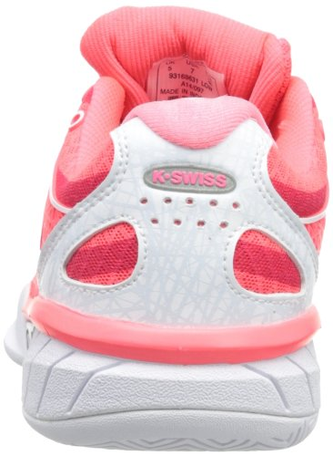 White Neon Shoe 5 Swiss K Express Tennis US M Red Women's 6 Ultra qYO8wXY