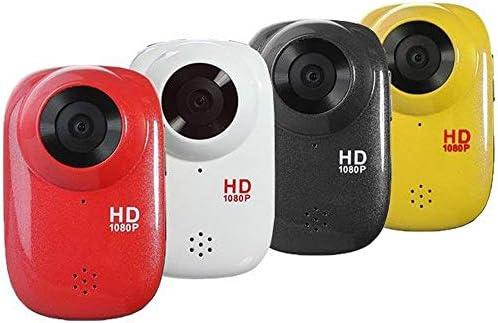 アクションカメラ ヘルメットアクションカメラダイビングDVR防水フルHD 1080P アクションカメラ (色 : Yellow, Size : One size)