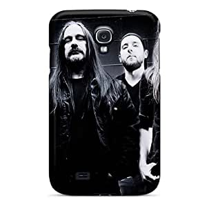 Shock-Absorbing Cell-phone Hard Cover For Samsung Galaxy S4 With Provide Private Custom Attractive Carcass Band Skin AlainTanielian