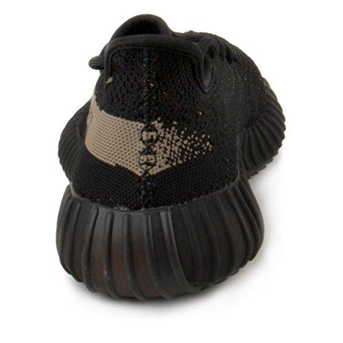 Adidas Mens Yeezy Boost 350 V2 Black/Green Fabric Size 10