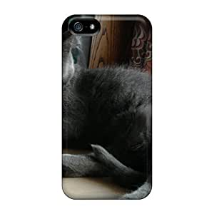 LastMemory Case Cover Skin For Iphone 5/5s (katze)