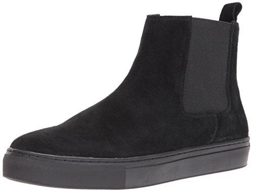 J Slides Men Danny Sneaker Black Suede