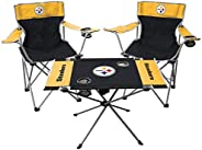 NFL Pittsburgh Steelers Tailgate Kit, Team Color, One Size