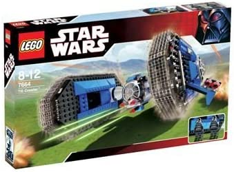 LEGO Star Wars: TIE Crawler Set 7664 incl. 2 shadow stormtrooper pilots by LEGO