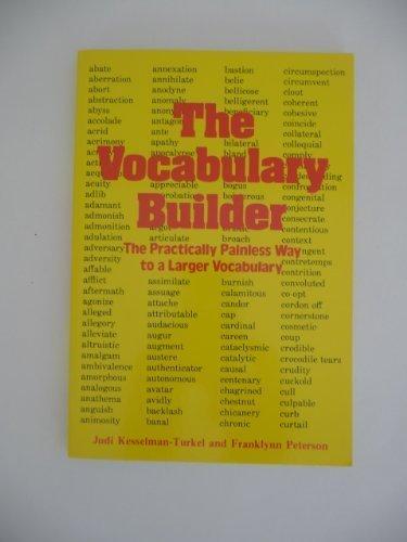 The Vocabulary Builder