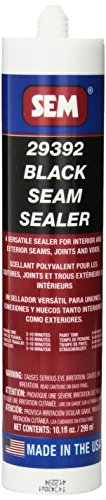 SEM 29392 Black Seam Sealer - 10.1 fl. oz. Enamel Primer Sealer