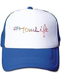 Momlife Adult Unisex Truck Driver Cap Snapback Cap Hat Mutiple Colors