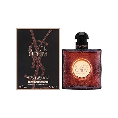 (Yves Saint Laurent Black Opium Women's Eau de Toilette Spray, 1.6 Ounce )