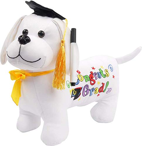 Graduation Autograph Dog with Marker - Congrats Grad! - -