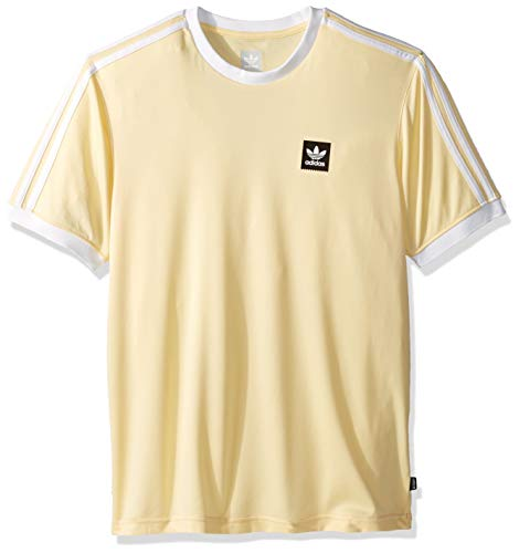 adidas Originals Men's Club Jersey, Easy Yellow/White, for sale  Delivered anywhere in USA