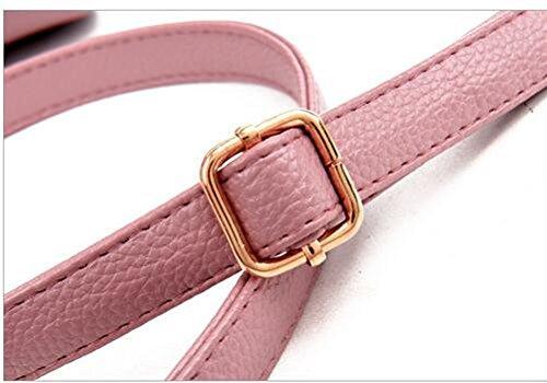 Bolsos Señoras Azul Meaeo Bolso Ocio Pink Bolso Bolso Bolsos Moda Simple 86ndn7P