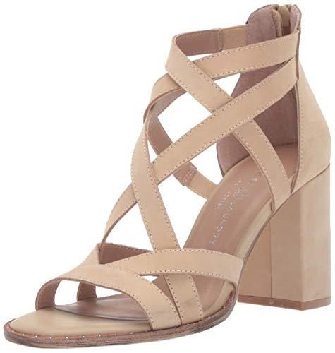 (Chinese Laundry Women's Shawnee Sandal Cream Leather 6.5 M US)
