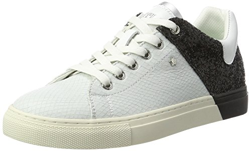 REPLAY Lolard, Sneaker Donna Schwarz (White Black)
