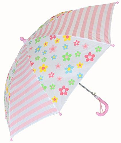 UPC 703961122759, Foxfire for Kids Girls Posies and Stripe Umbrella Pink